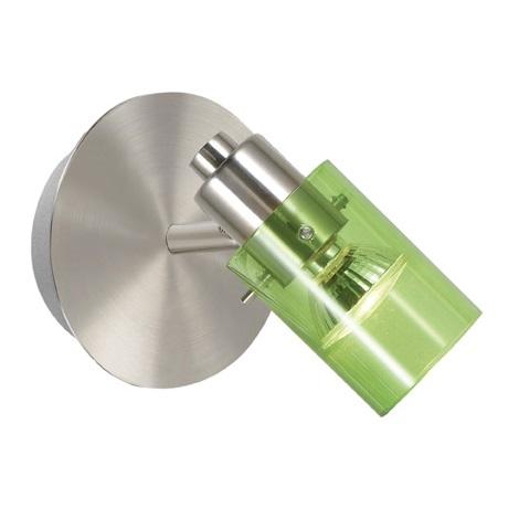 EGLO 22071 - STOMP 1 fali spotlámpa 1xGU10/50W zöld