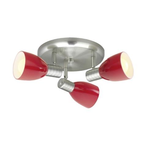 Eglo 22339 - Spotlámpa PRINCE 3xE14/7W/230V