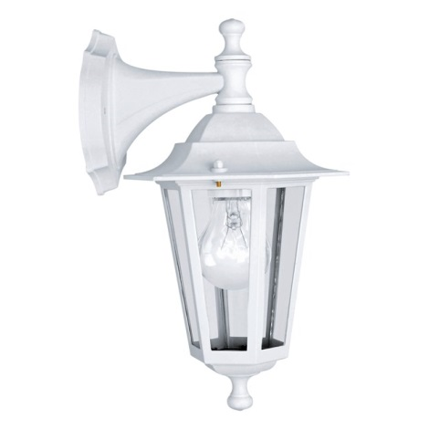 EGLO 22462 - LATERNA 5 kültéri fali lámpa 1xE27/60W IP44 fehér