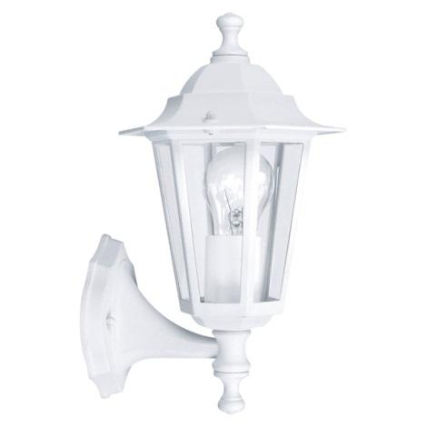 EGLO 22463 - LATERNA 5 kültéri fali lámpa 1xE27/60W fehér