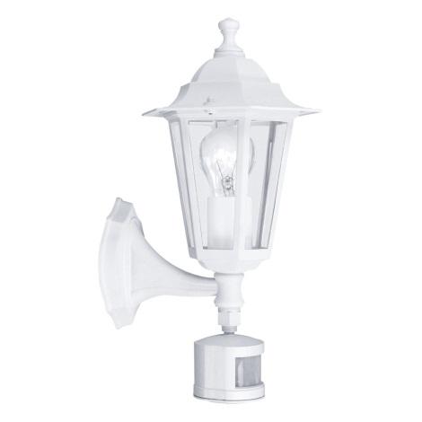 EGLO 22464 - LATERNA 5  szenzoros kültéri fali lámpa 1xE27/60W