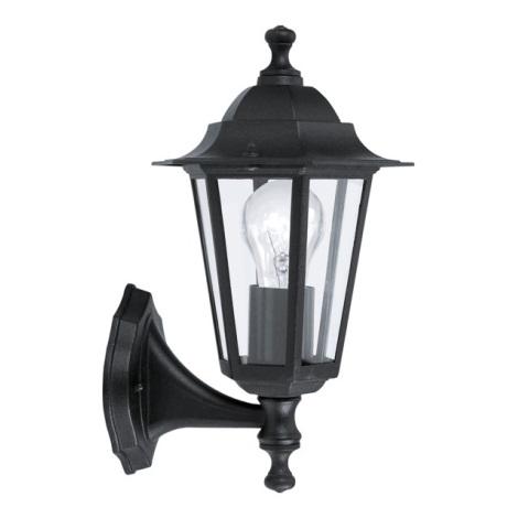 EGLO 22468 - LATERNA 4 kültéri fali lámpa 1xE27/60W fekete