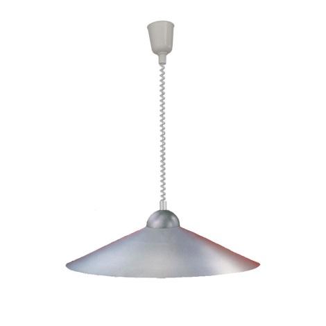 EGLO 27052 - Allítható magasságú csillár 1xE27/100W ezüst