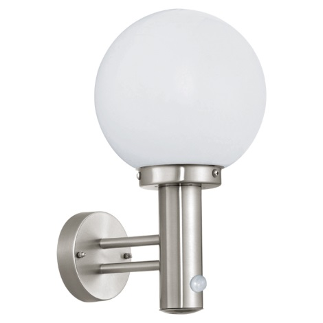 EGLO 27126 - NISIA szenzoros kültéri lámpa 1xE27/60W