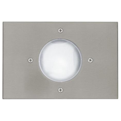 EGLO 27181 - RIGA 3 kültéri taposólámpa 1xE14/11W fehér