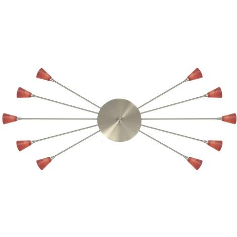 EGLO 27655 - Mennyezeti lámpa 10xG4/20W