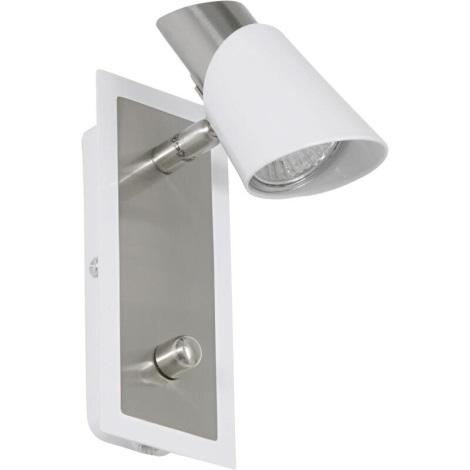 EGLO 27725 - SKIP WHITE spotlámpa 1xGU10/50W
