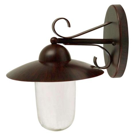 Eglo 27898 - Kültéri fali lámpa  MILTON 1xE27/60W/230V