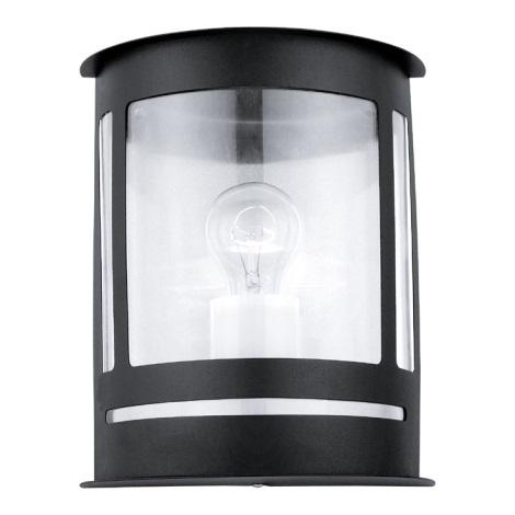 EGLO 30174 - DARIL fali lámpa 1xE27/60W fekete