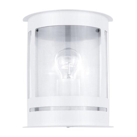 EGLO 30175 - DARIL kültéri fali lámpa 1xE27/60W fehér