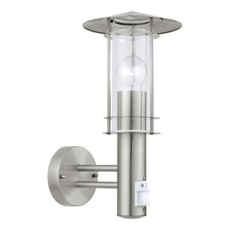 EGLO 30185 - LISIO szenzoros kültéri lámpa 1xE27/60W