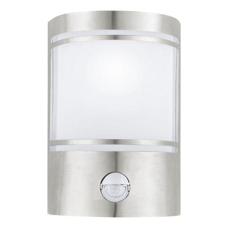 EGLO 30192 - CERNO kültéri szenzoros fali lámpa 1xE27/40W