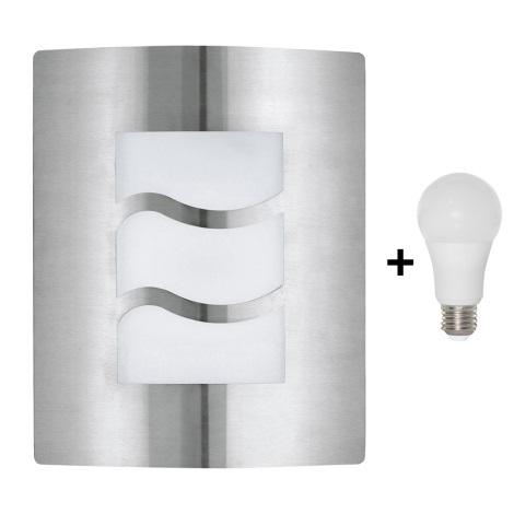 EGLO 30193 - LED Kültéri fali lámpa CITY 1 1xE27/10W/230V IP44