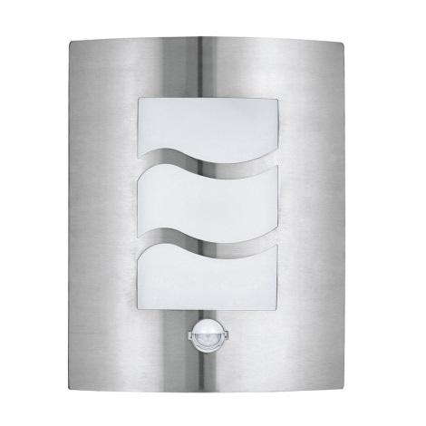EGLO 30194 - CITY 1 szenzoros kültéri fali lámpa 1xE27/60W