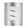 EGLO 30194 - LED Szenzoros kültéri fali lámpa CITY 1 1xE27/10W/230V IP44