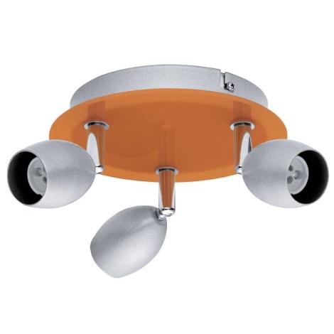 EGLO 30252 - BURONI spotlámpa 3xGU10/50W