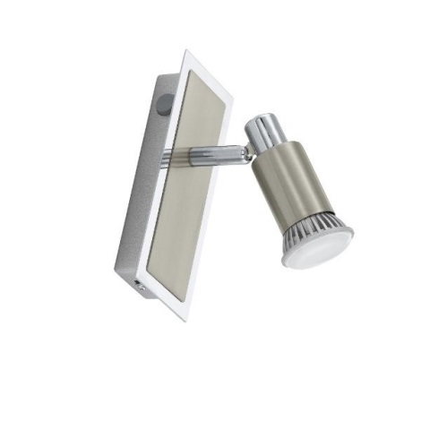 EGLO 30849 - ERIDAN LED-es spotlámpa 1xGU10/3W LED