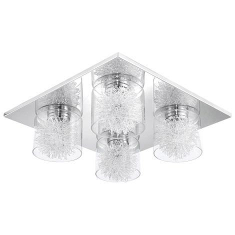 Eglo 31335 - Mennyezeti lámpa ALTAMURA 4xG9/33W/230V