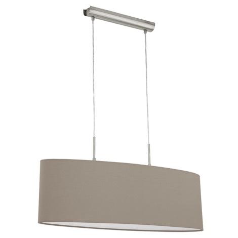 Eglo 31581 - Csillár kötélen Pasteri 2xE27/60W/230V