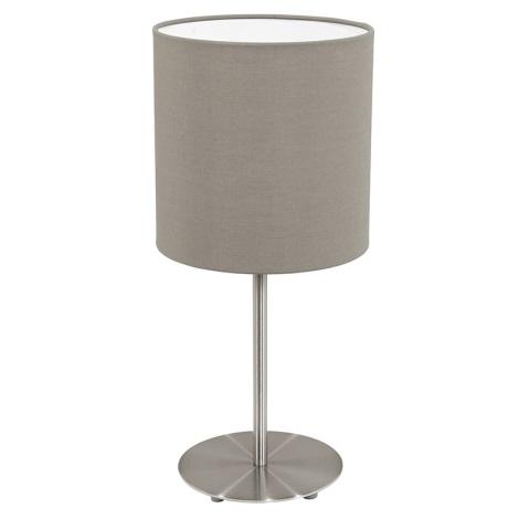 Eglo 31595 - Asztali lámpa Pasteri 1xE27/60W/230V