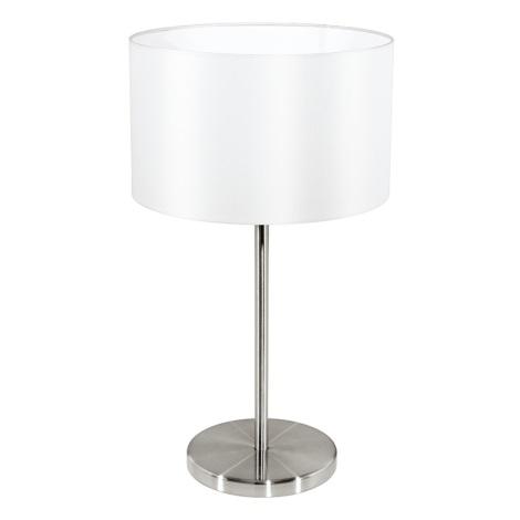 Eglo 31626 - Asztali lámpa MASERLO 1xE27/60W/230V