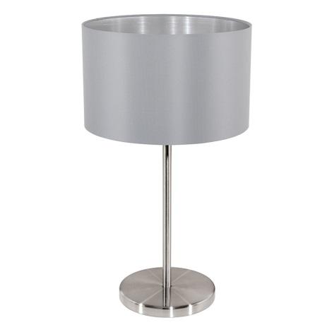 Eglo 31628 - Asztali lámpa MASERLO 1xE27/60W/230V