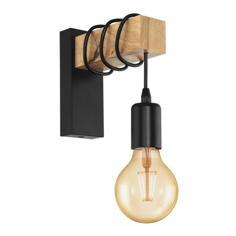 Eglo 32917 - Fali lámpa TOWNSHEND 1xE27/10W/230V