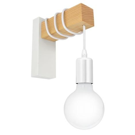 Eglo 33162 - Fali lámpa TOWNSHEND 1xE27/10W/230V