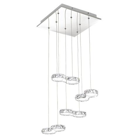 Eglo 39013 - LED függesztékes lámpa Corliano 8xLED/4,2W/230V