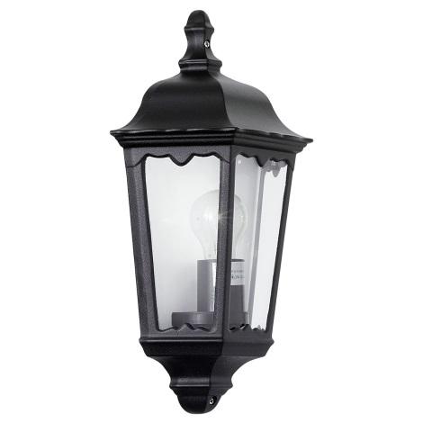 EGLO 4201 - OUTDOOR kültéri fali lámpa 1xE27/100W fekete