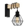 Eglo 43135 - Fali lámpa TOWNSHEND 1xE27/60W/230V