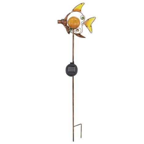 EGLO 47098 - Szolar lámpa 1xLED/0,015W bronz