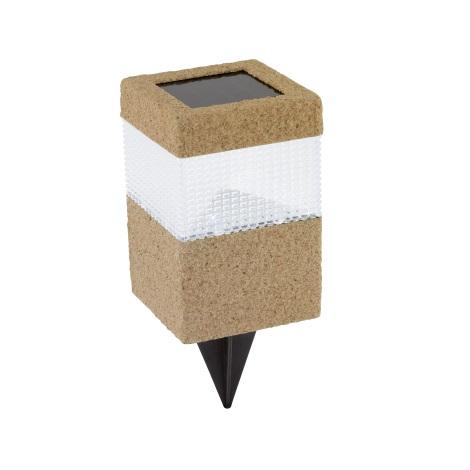 EGLO 47208 - Szolar lámpa 1xLED/0,024W téglavörös