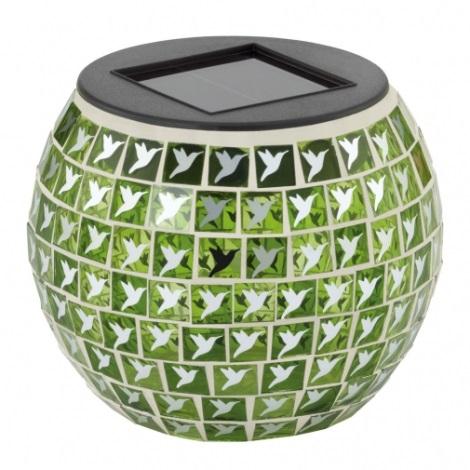 EGLO 47216 - VOGEL szolár lámpa 1xLED/0,03W zöld