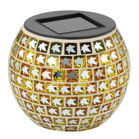 EGLO 47217 - BLATT szolar lámpa 1xLED/0,03W narancs