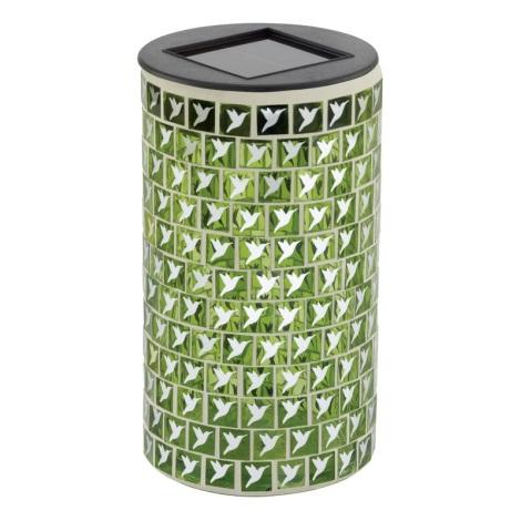 EGLO 47219 - Szolar lámpa VOGEL 1xLED/0,03W zöld