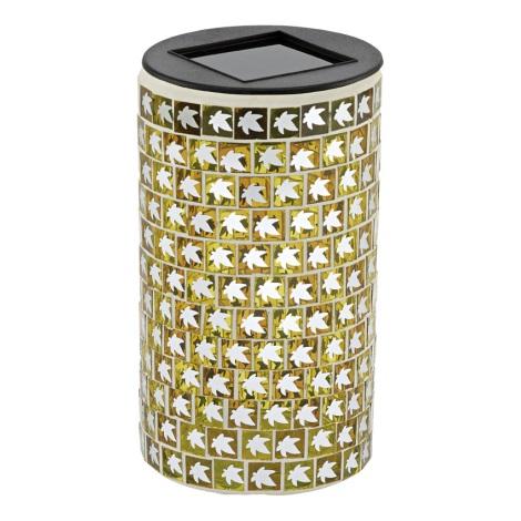 EGLO 47222 - BLATT szolar lámpa 1xLED/0,03W narancs