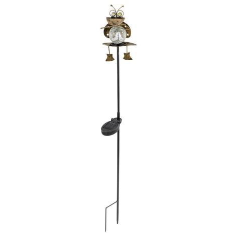 EGLO 47318 - Szolár lámpa 1xLED/0,075W bogár  bronz