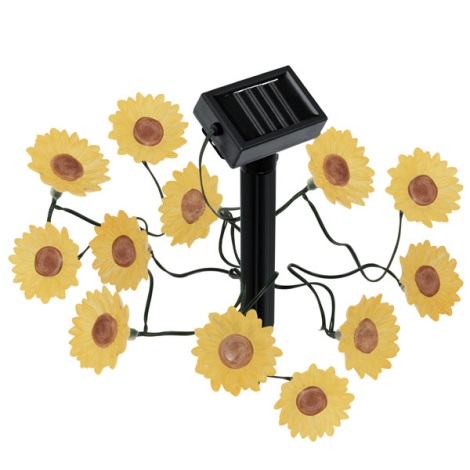 EGLO 47342 - Solár LED lámpa virágok 12xLED/0,0
