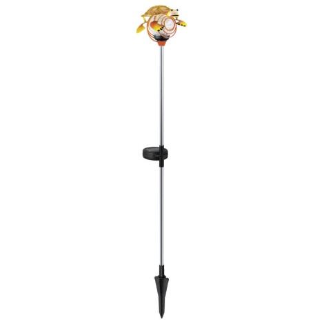 EGLO 47635 - Szolar lámpa 1xLED/0,04W narancs teknősbéka