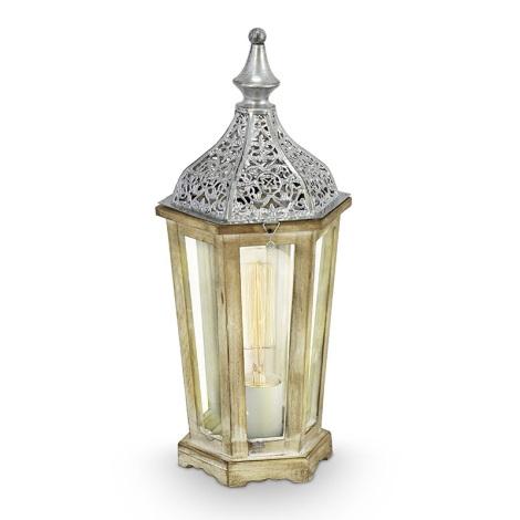 Eglo 49277 - Asztali lámpa  KINGHORN 1xE27/60W/230V