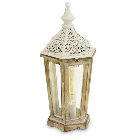 Eglo 49278 - Asztali lámpa KINGHORN 1xE27/60W/230V