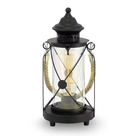 Eglo 49283 - Asztali lámpa  BRADFORD 1xE27/60W/230V