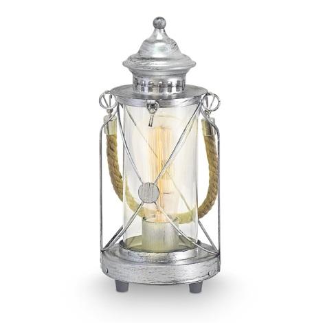Eglo 49284 - Asztali lámpa  BRADFORD 1xE27/60W/230V