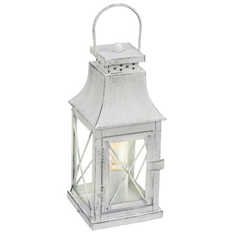 Eglo 49294 - Asztali lámpa LISBURN 1xE27/60W/230V