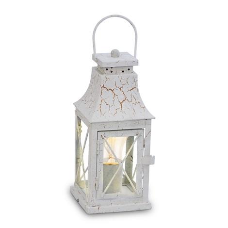 Eglo 49295 - Asztali lámpa LISBURN 1xE27/60W/230V