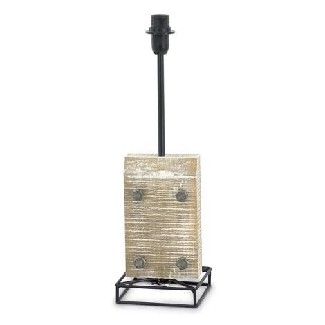Eglo 49325 -Lámpa talpazat VINTAGE 1xE14/40W/230V fekete fém