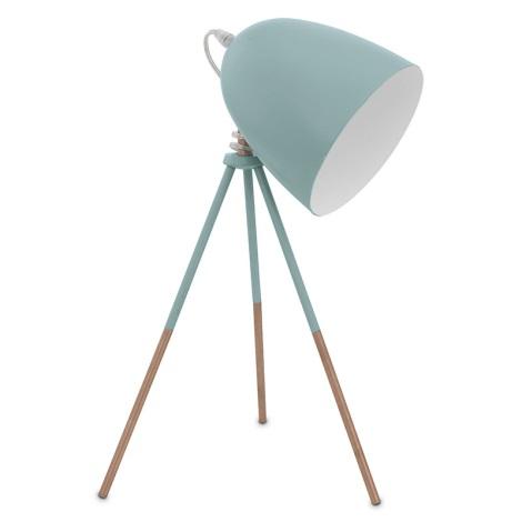 Eglo 49337 - Asztali lmpa DUNDEE 1xE27/60W/230V