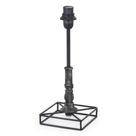 Eglo 49346 - Lámpa talpazat  VINTAGE 1xE14/40W/230V fekete fém