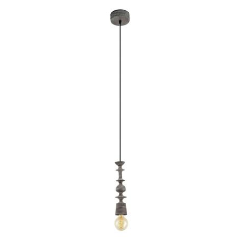 Eglo 49375 - Mennyezeti függesztékes lámpa AVOLTRI 1xE27/60W/230V